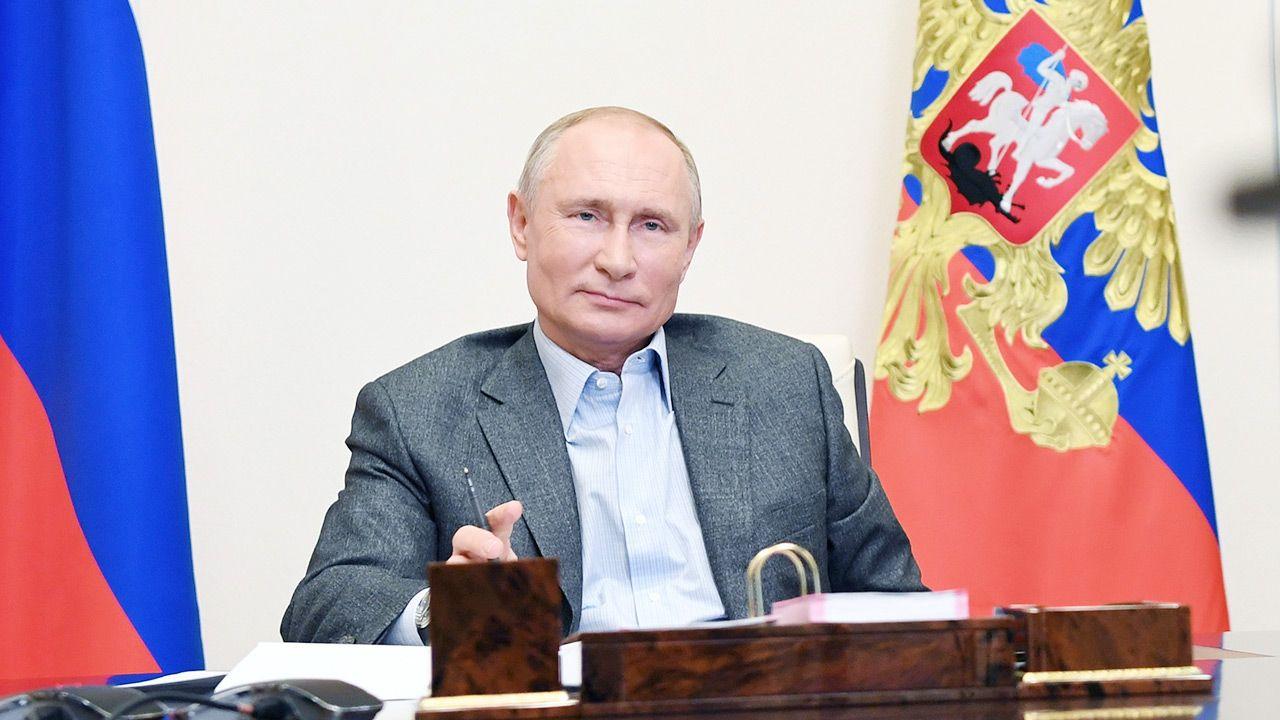 Prawdopodobnie zapadnie decyzja o przedłużeniu unijnych sankcji wobec Rosji (fot. PAP/EPA/ALEXEI NIKOLSKY/SPUTNIK /KREMLIN POOL / POOL)