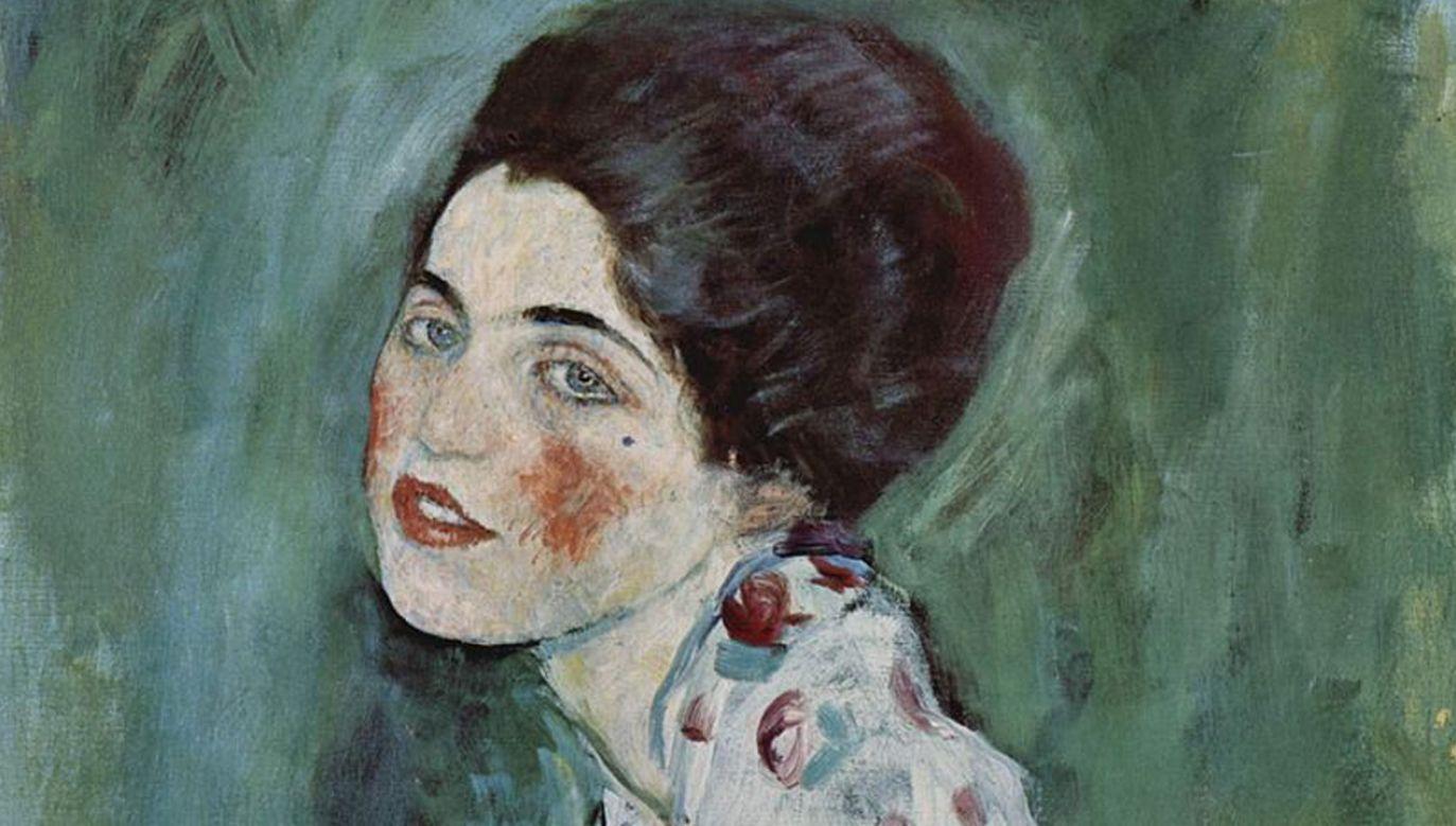 Gustaw Klimt – Portret kobiety (1916 - 1917) (fot. Wikimedia Commons)