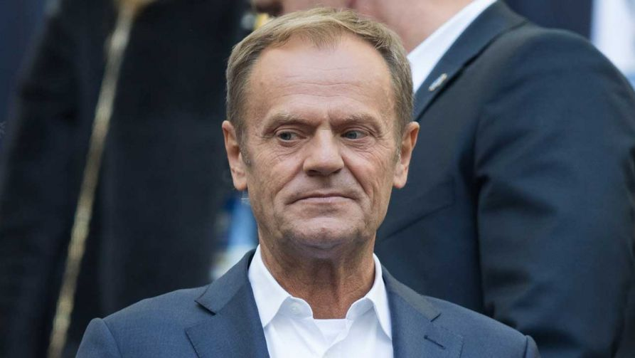Przewodniczący Rady Europejskiej Donald Tusk (fot. Foto Olimpik/NurPhoto/Getty Images)