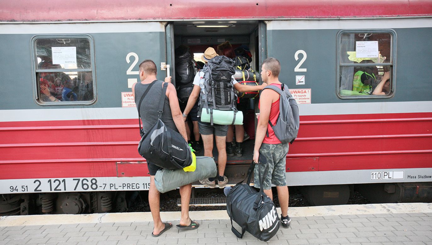 Specjalne pociągi na Woodstock jednak pojadą, ale będzie ich mniej, niż w poprzednich latach (fot. arch.PAP/Lech Muszyński)