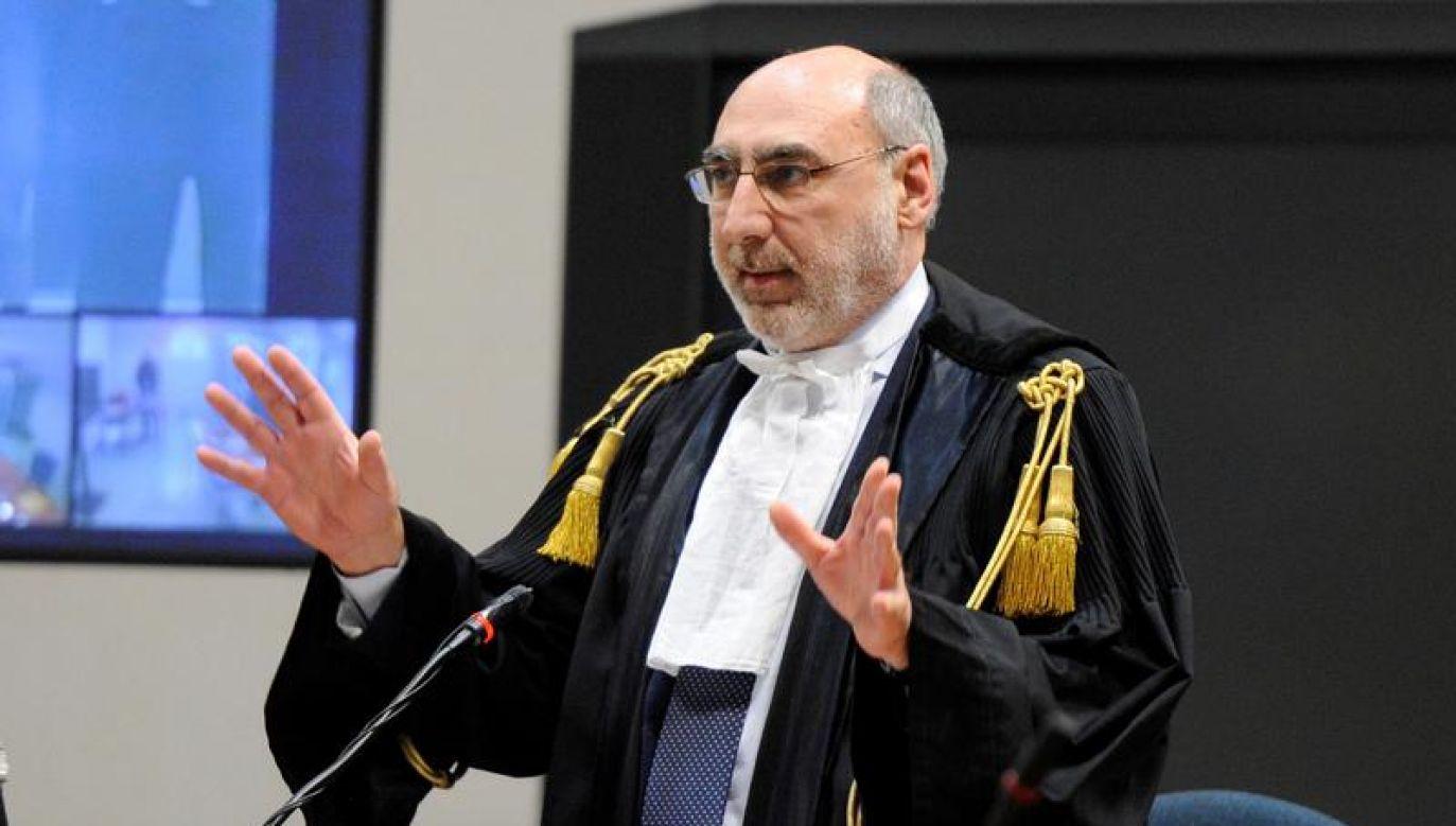 Sędzia zgodził się na zmianę terminu rozprawy/ zdjęcie ilustracyjne (fot. REUTERS/Guglielmo Mangiapane)