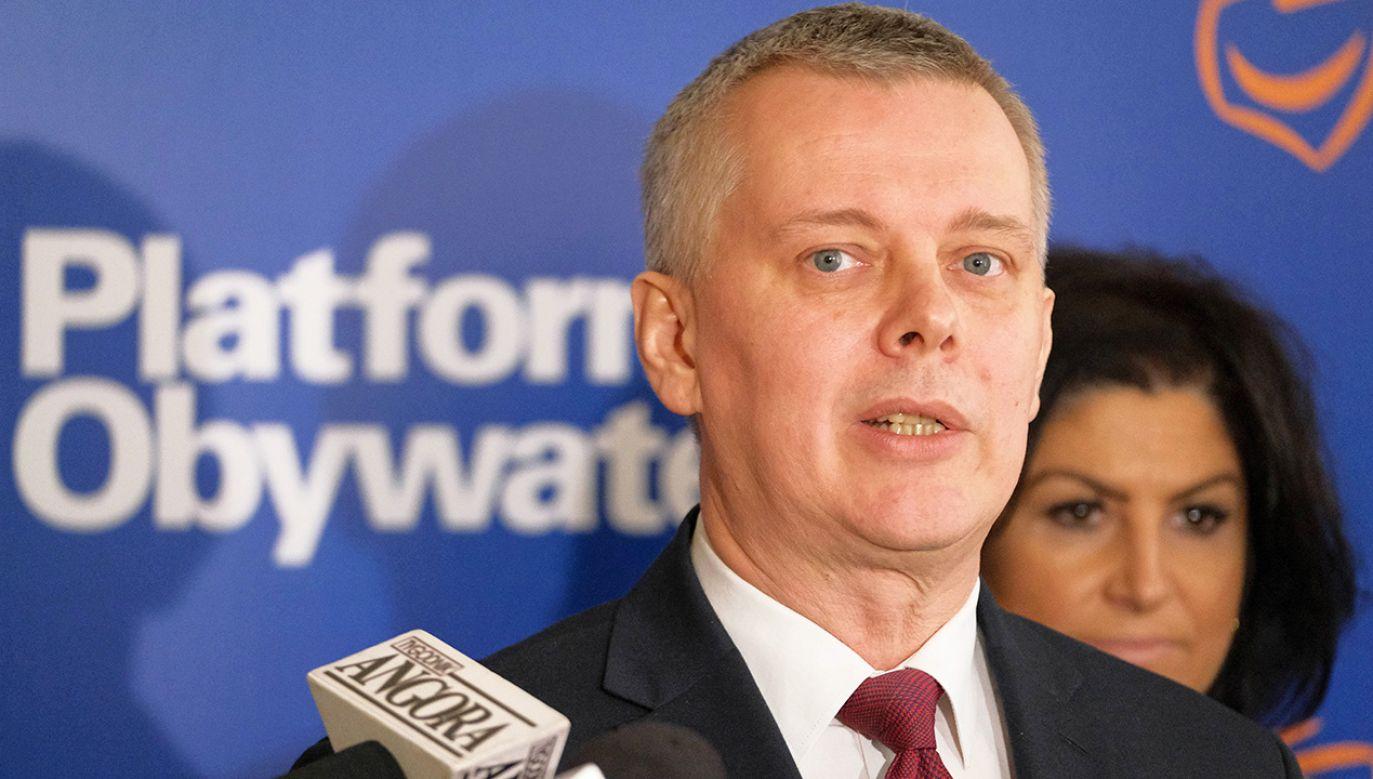 Tomasz Siemoniak, były szef MON w rządzie PO-PSL (fot. arch.PAP/M.Marek)