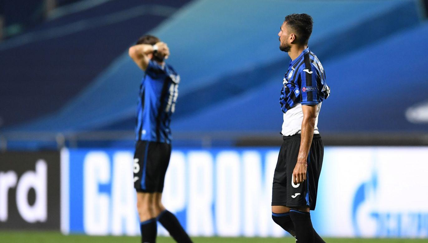 Piłkarze Atalanty nie mogli uwierzyć, że awans wymknął im się z rąk (fot. Reuters/Pool New)