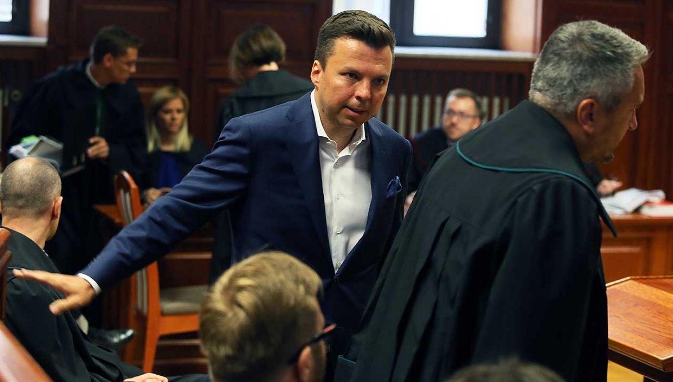 Falenta, biznesmen skazany w tzw. aferze podsłuchowej, odsiaduje wyrok 2,5 roku więzienia, który zapadł w 2016 r. przed Sądem Okręgowym w Warszawie (fot. arch. PAP/Tomasz Gzell)