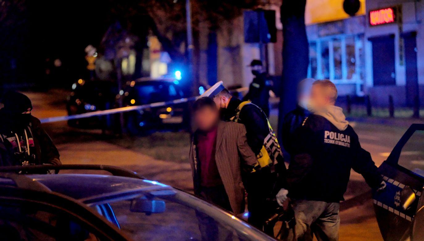 Obywatel Ukrainy zatrzymany po policyjnym pościgu w Koszalinie (fot. PAP)