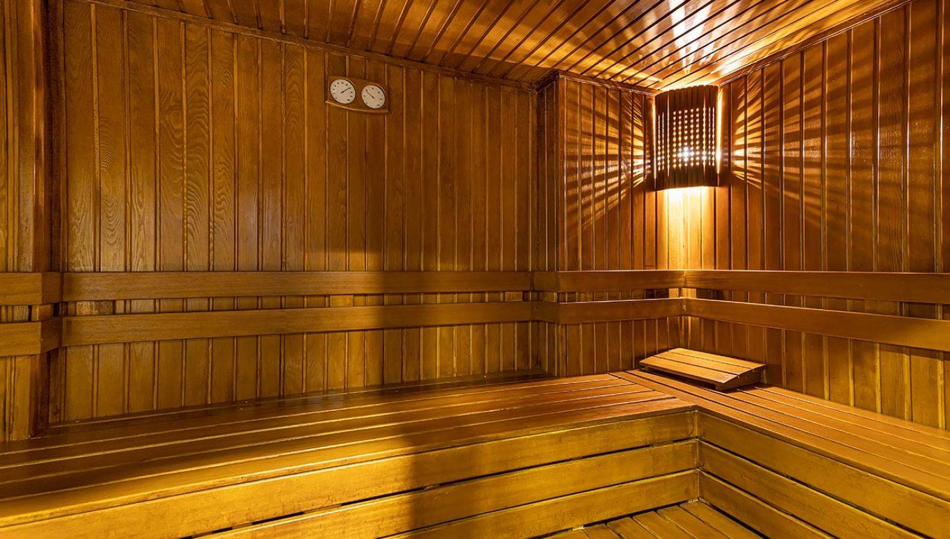 W hotelowej saunie policja odnalazła ciała turystów (Fot. Shutterstock/Mine Toz, zdjęcie ilustracyjne)