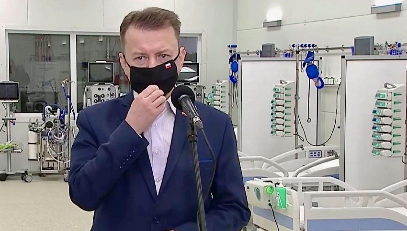 Mariusz Błaszczak (fot. TVP Info)