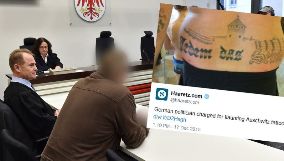 Pół Roku Więzienia W Zawieszeniu Za Tatuaż Z Auschwitz Tvp
