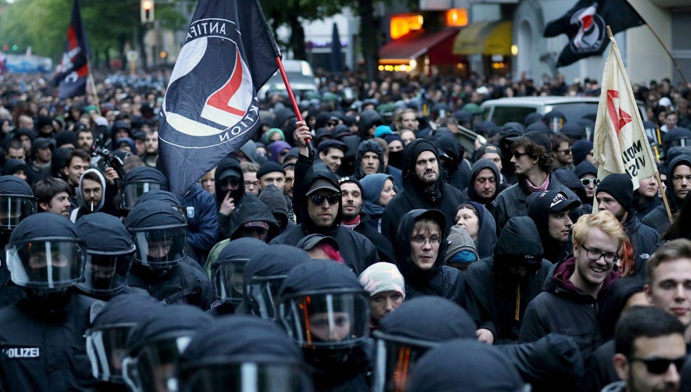 W Niemczech narasta antysemityzm. Pośrednio przyczynia się do tego skrajna lewica (fot. Getty Images)