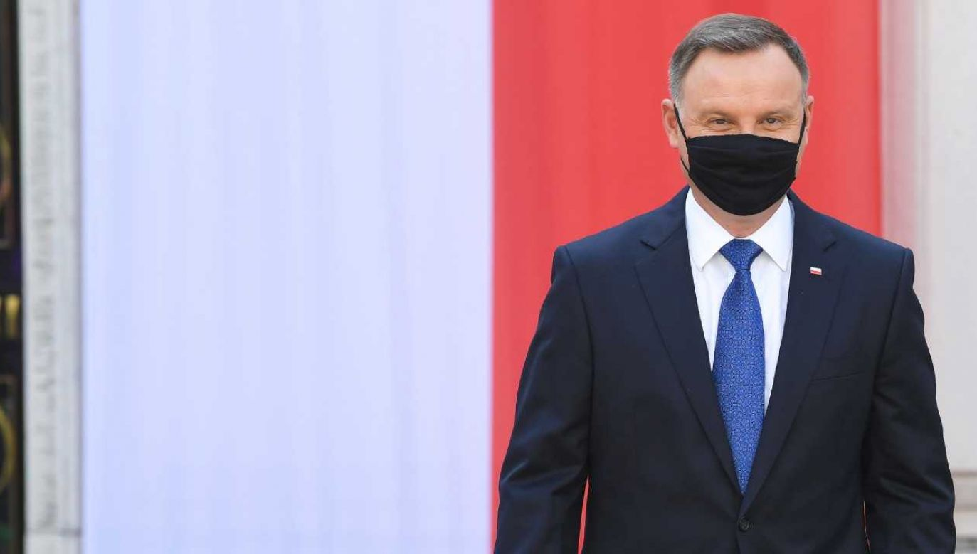 Prezydent Andrzej Duda złożył przysięgę rozpoczynającą drugą kadencję (fot. PAP/Radek Pietruszka)