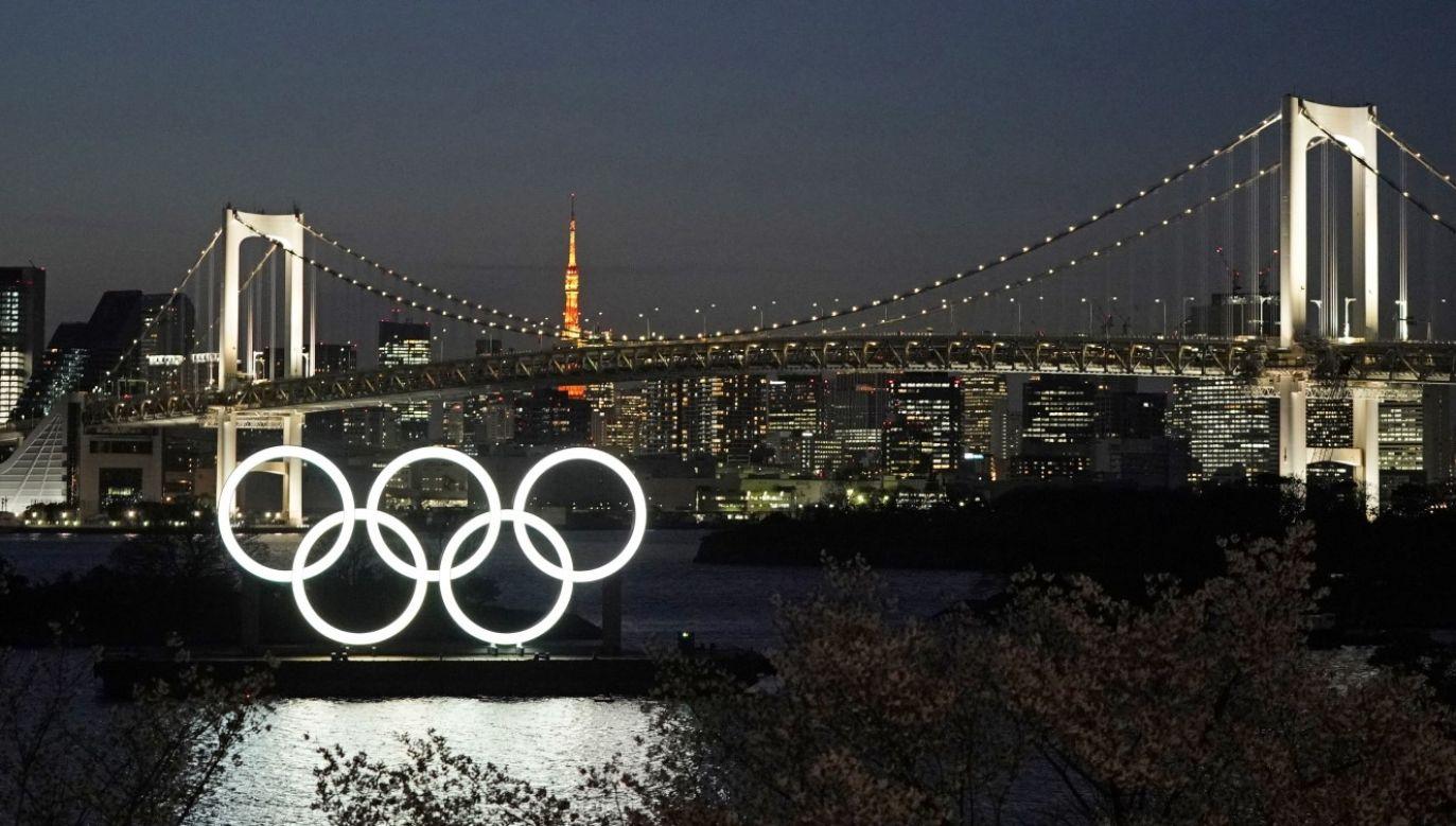 Igrzyska w Tokio rozpoczną się niemal rok później (fot. PAP/EPA/FRANCK ROBICHON)