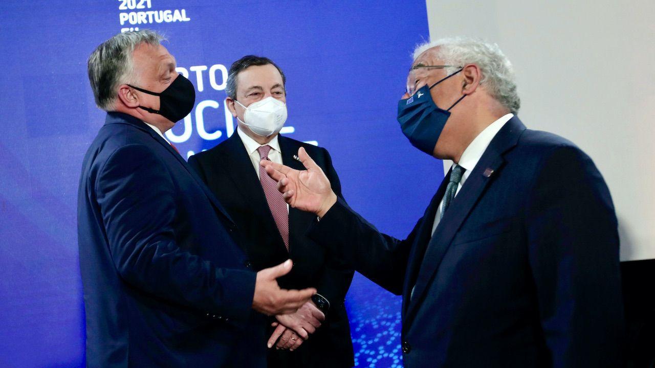Szczyt społeczny UE w Porto (fot. PAP/EPA/LUIS VIEIRA)