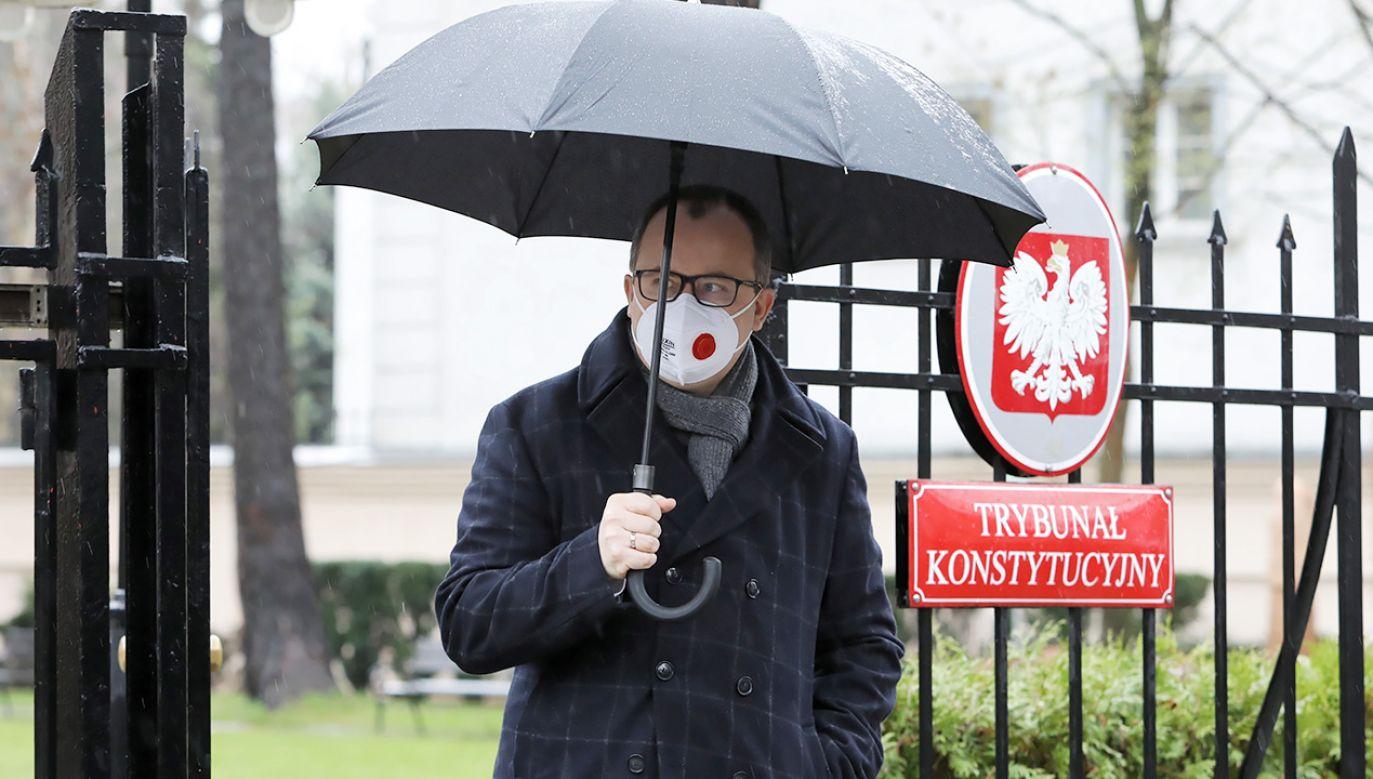 Adam Bodnar nie może dalej pełnić funkcji Rzecznika Praw Obywatelskich (fot. PAP/Leszek Szymański)