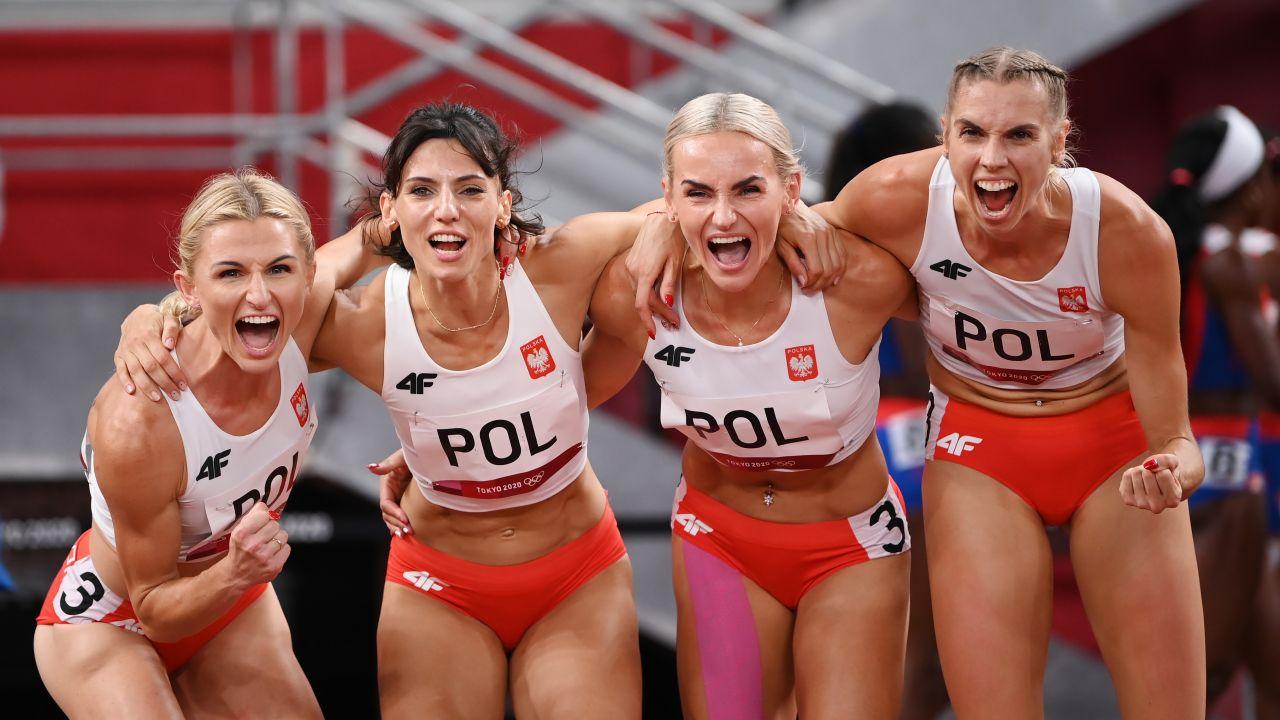 Polska sztafeta 4x400 m (fot. Getty Images)