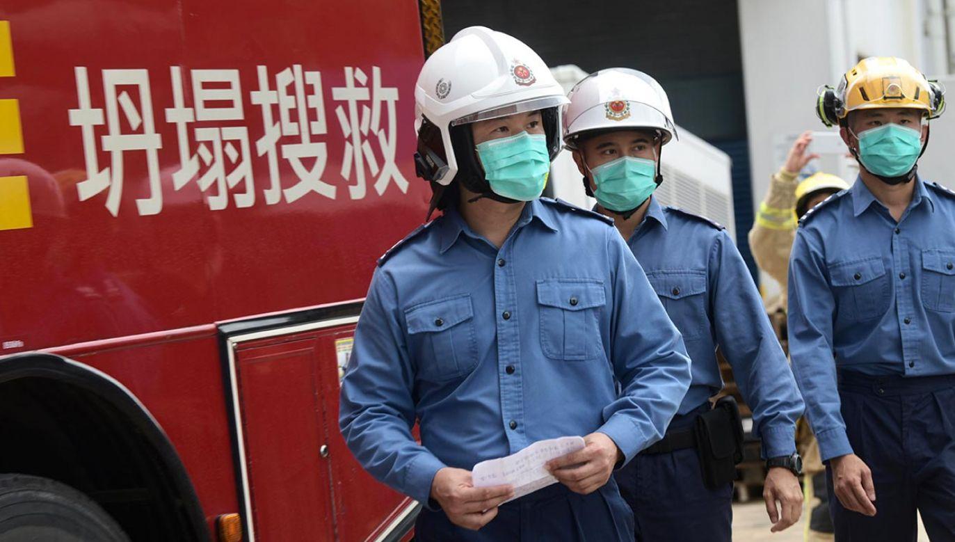 W autobusie było między innymi czworo uczniów (fot.  Li Zhihua/China News Service via Getty Images)