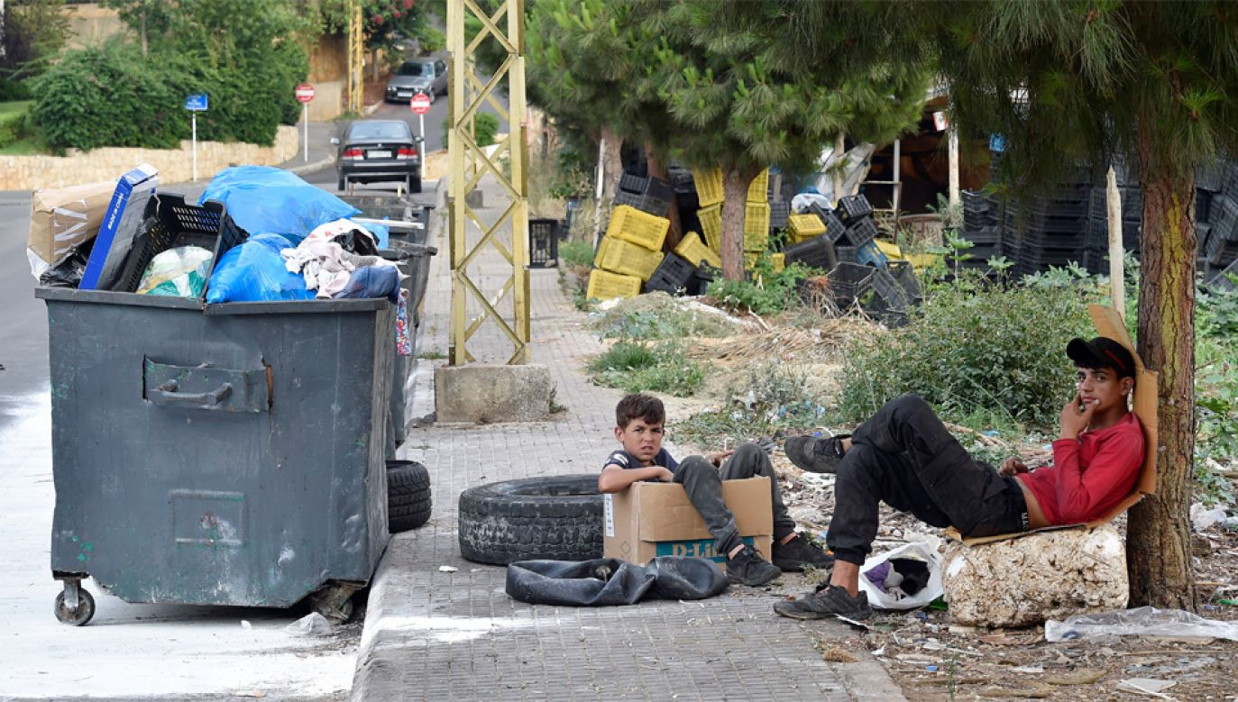 Wojna zmusiła setki tysięcy Syryjczyków do ucieczki (fot. PAP/EPA/WAEL HAMZEH)