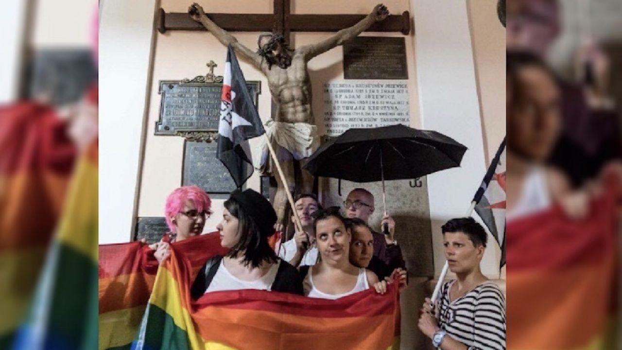 """Do czego prowadzi ideologia LGBT i jaki jest cel jej """"pasterzy"""" możemy zobaczyć obserwując kraje, gdzie radykałowie dostali możliwość wprowadzania swoich antydemokratycznych pomysłów w życie (fot. Facebook / Obserwator Publiczny)"""