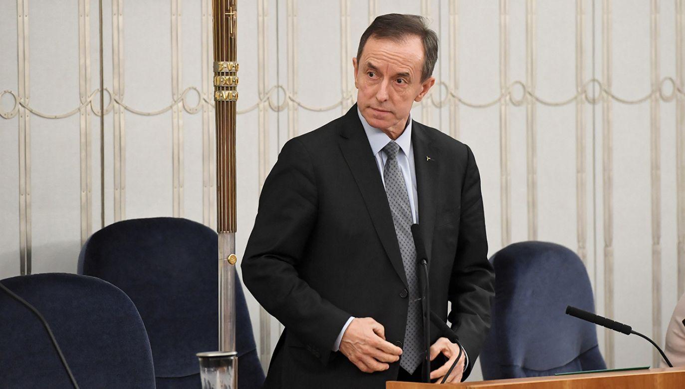 Aktualny marszałek Senatu miał zażądać 15 tys. zł za operację kobiety (fot. arch. PAP/Radek Pietruszka)