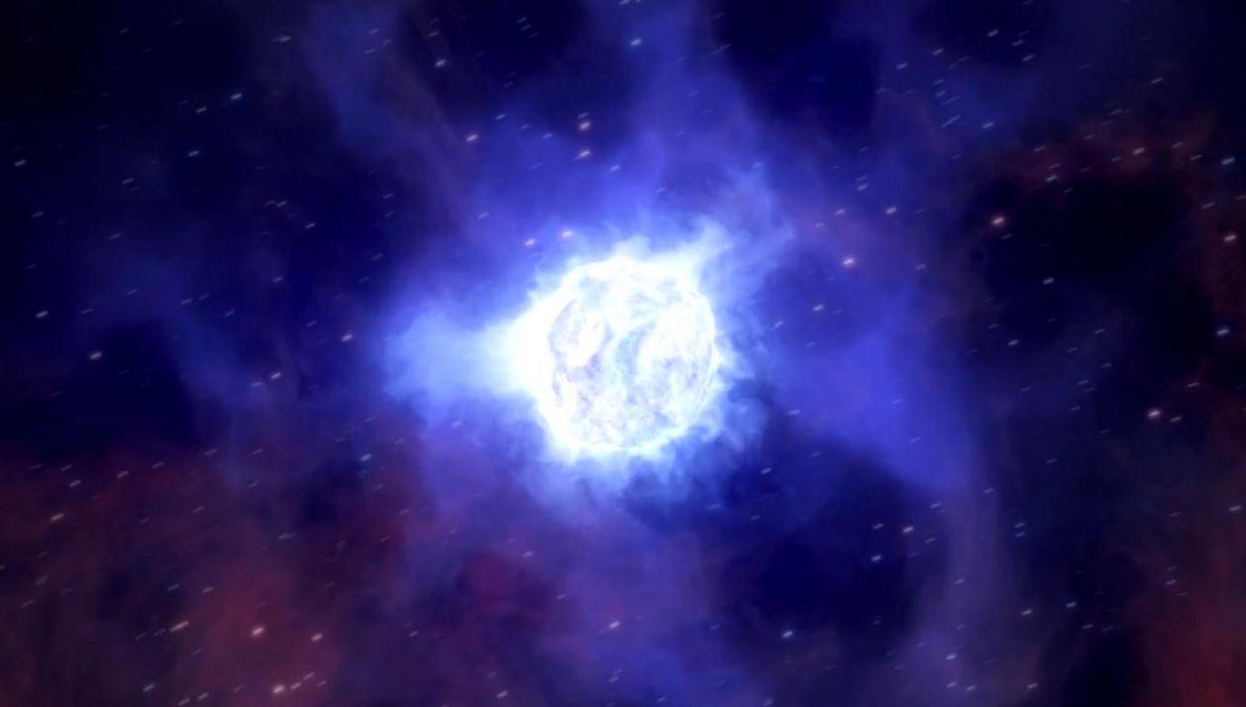 Przy użyciu teleskopu ESO astronomowie zauważyli zniknięcie gwiazdy w odległej galaktyce (fot. ESO)