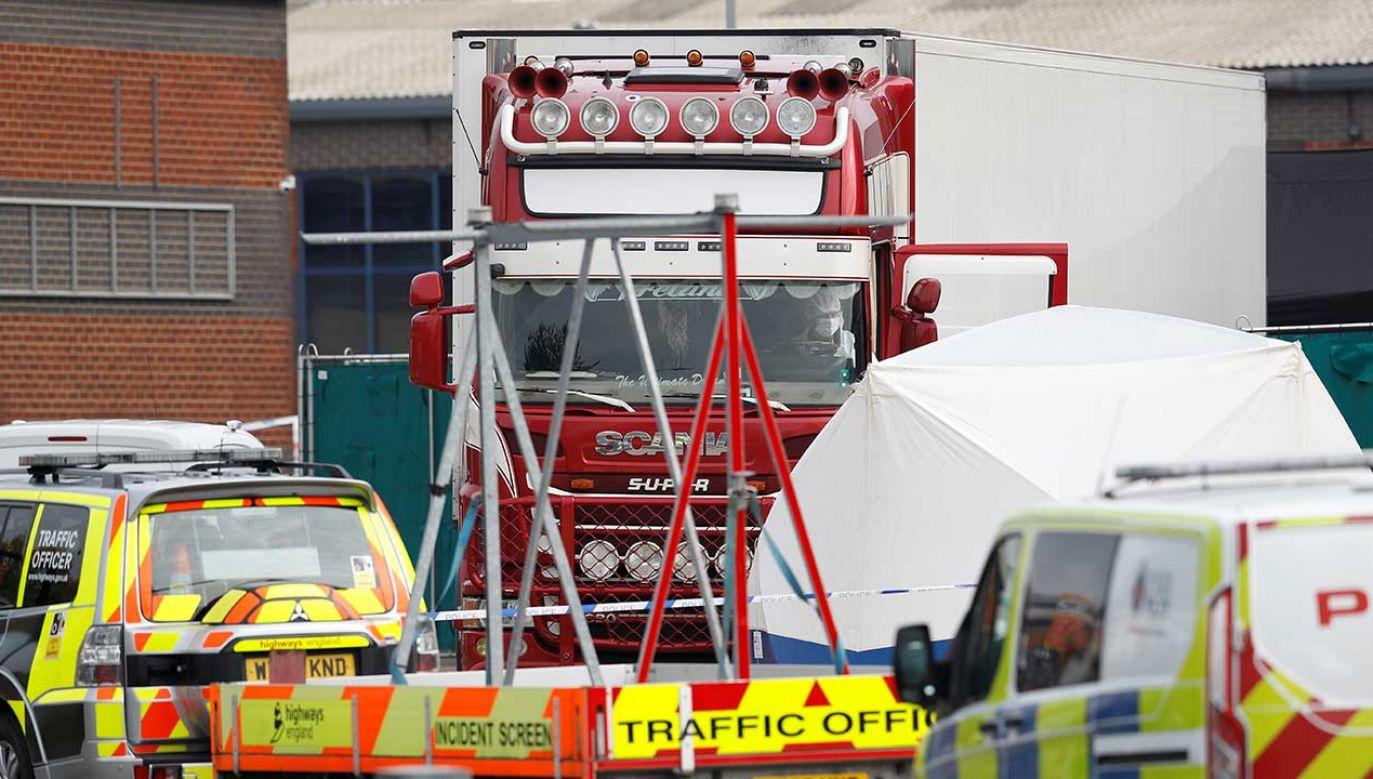 Kierowca pochodzi z Irlandii Północnej (fot. REUTERS/Peter Nicholls)