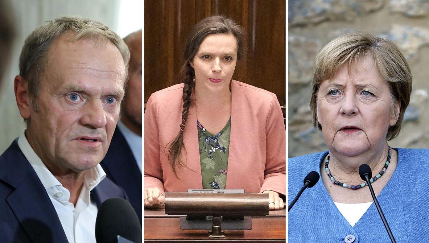 Opozycja obwieściła sukces i dalszą walkę (fot. PAP/Wojciech Olkuśnik, Mateusz Marek;  Serhat Cagdas/Anadolu Agency via Getty Images)
