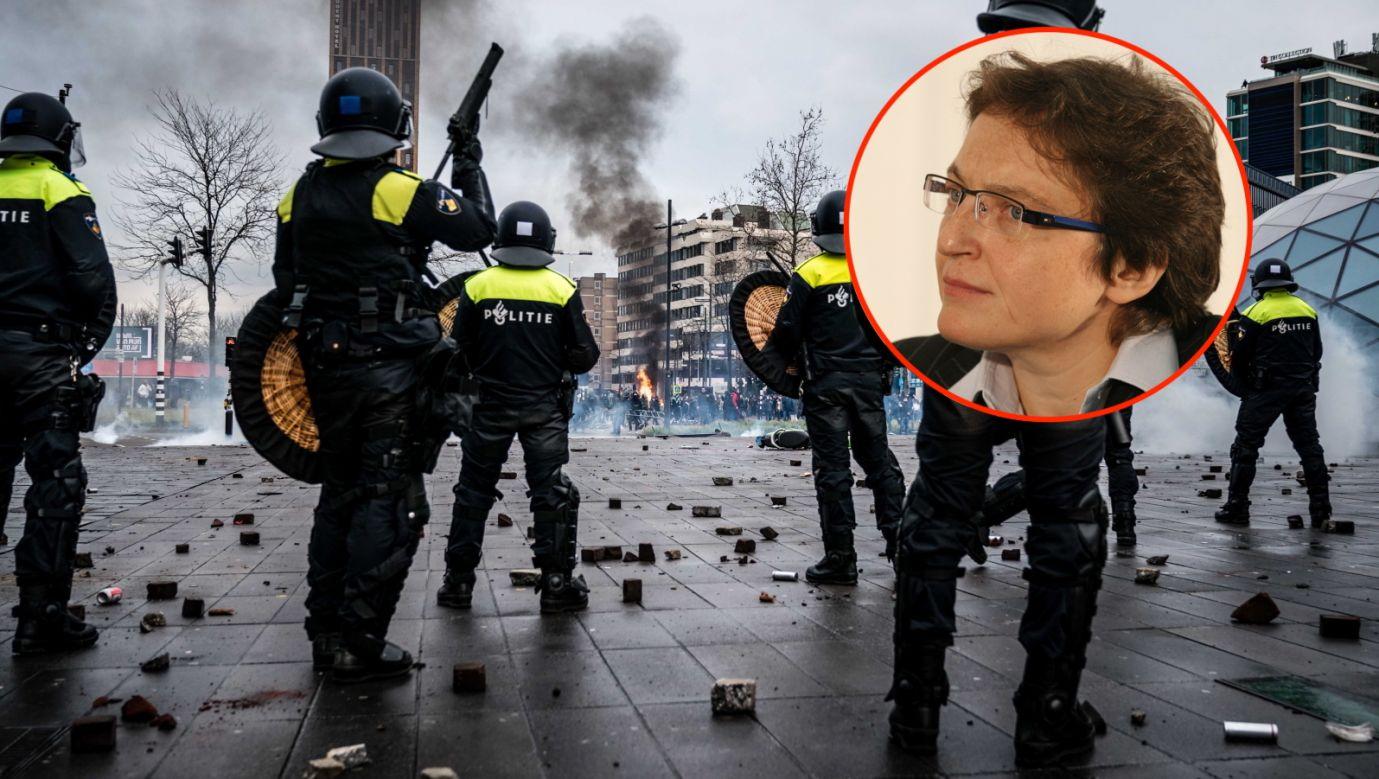 Holandia pogrążona w kryzysie (na zdjęciu z prawej dr Małgorzata Bonikowska - fot. PAP/EPA/ROB ENGELAAR, PAP/Jacek Bednarczyk)