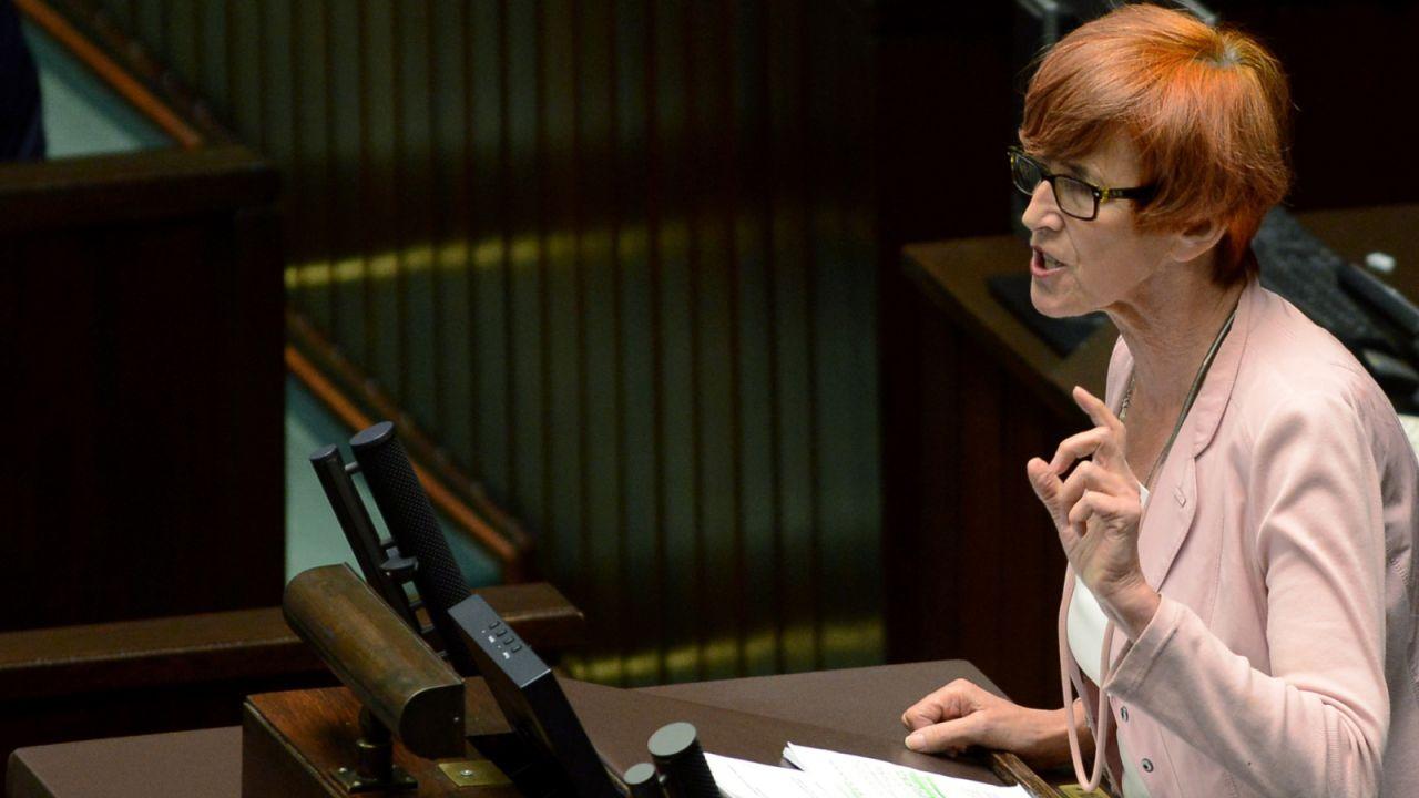 Minister rodziny, pracy i polityki społecznej Elżbieta Rafalska (fot. PAP/Jakub Kamiński)