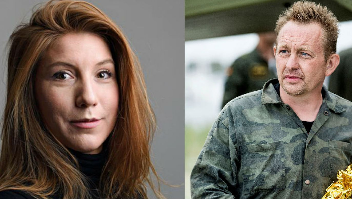 Dziennikarka Kim Well i  wynalazca Peter Madsen (fot. Reuters/TT NEWS AGENCY/ Tom Wall  i Scanpix Denmark)