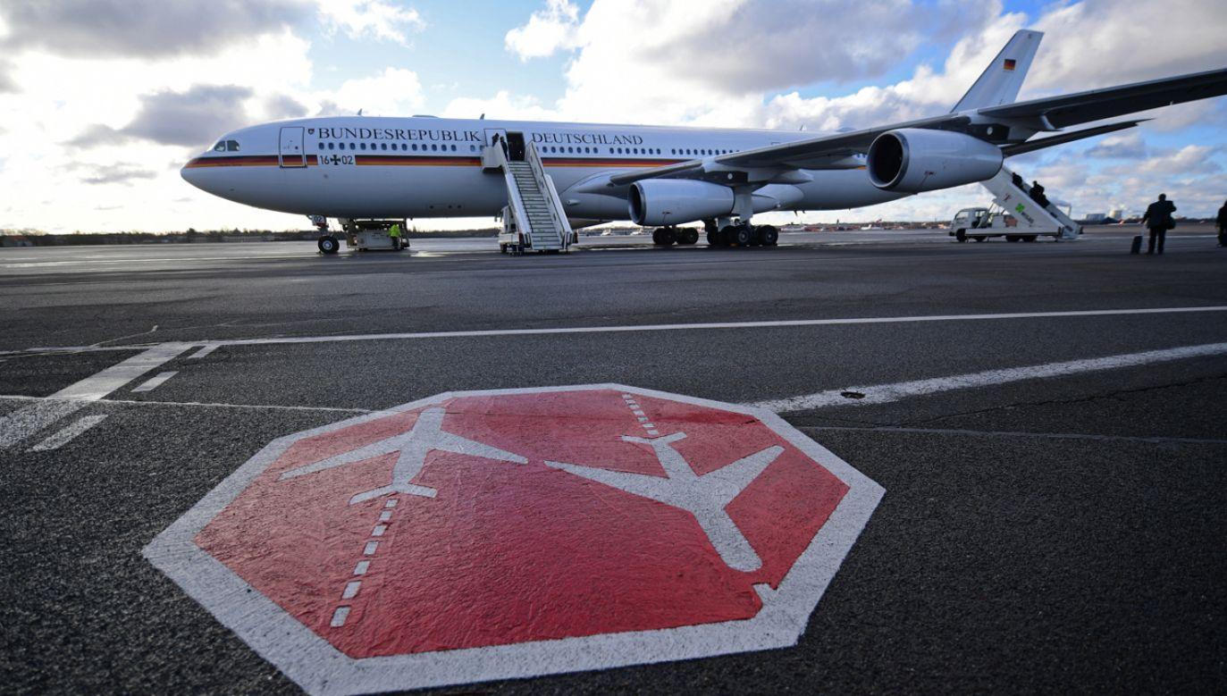 Od 18 marca cła odwetowe na samoloty Airbus zostaną podwyższone z 10 do 15 proc.(fot. PAP/EPA/ALI HAIDER)