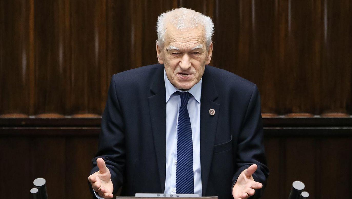 Marszałek senior i legendarny opozycjonista zmarł po ciężkiej chorobie (fot. PAP/Paweł Supernak )