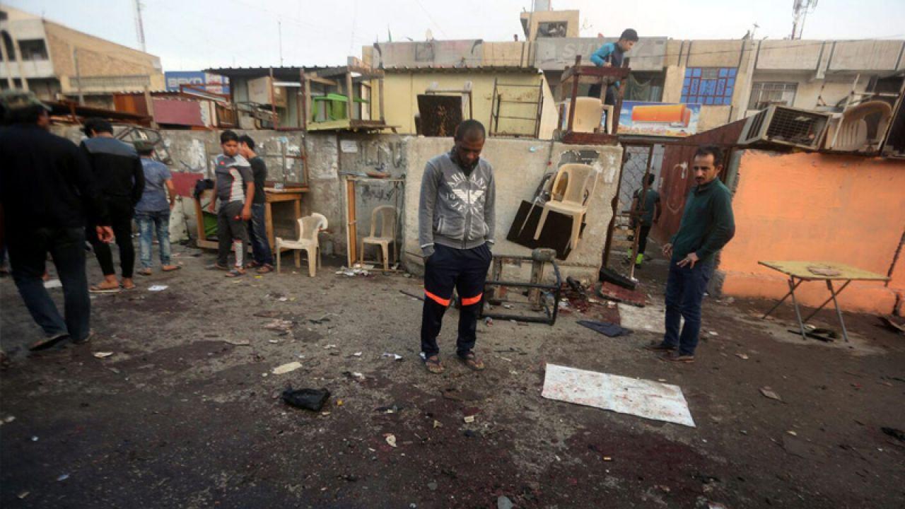 Terroryści zdetonowali dwie bomby dwóch bomb w szyickiej dzielnicy Bagdadu (fot. PAP/EPA/AHMED ALI)