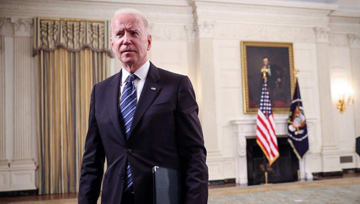 Prezydent USA Joe Biden (fot. Getty Images)