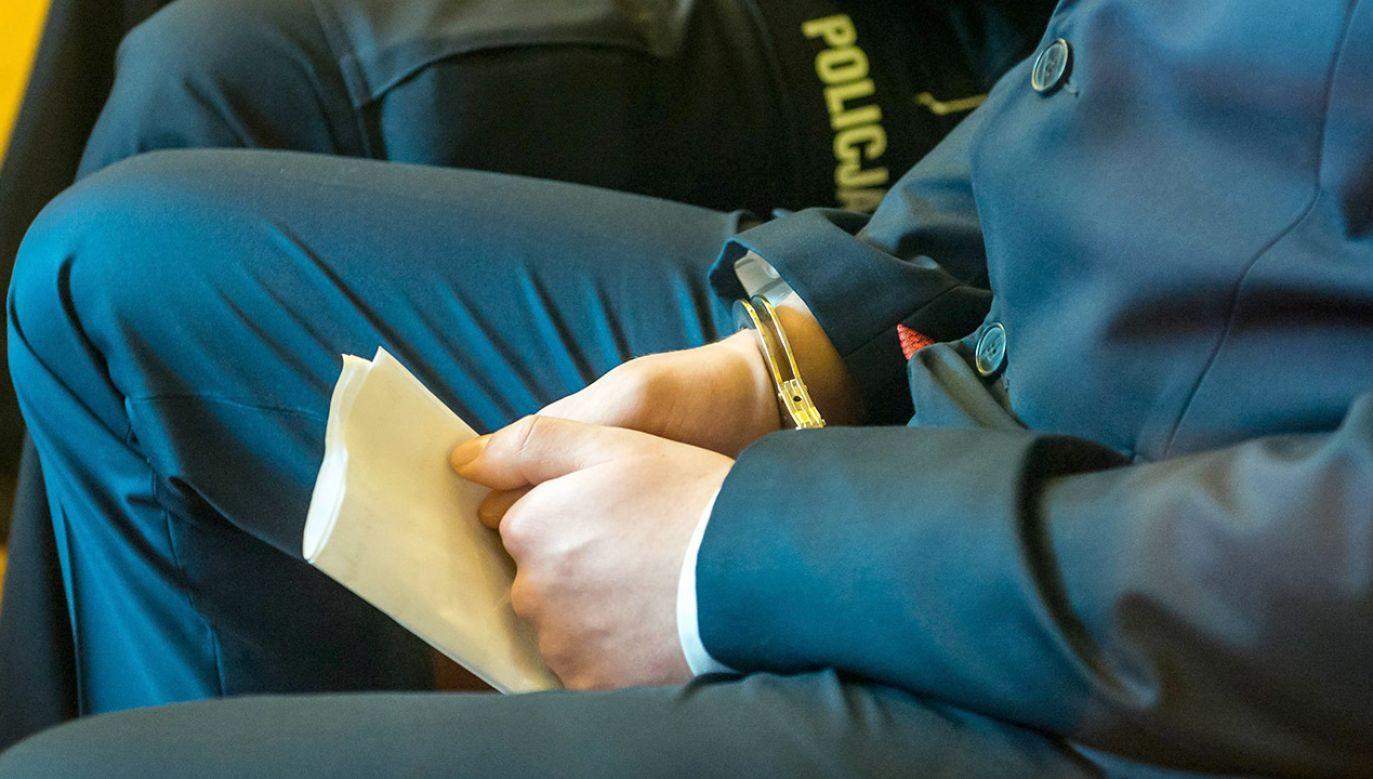 Za atak z użyciem noża Damian C. trafi na cztery lata za kratki (fot. arch.PAP/Tytus Żmijewski)