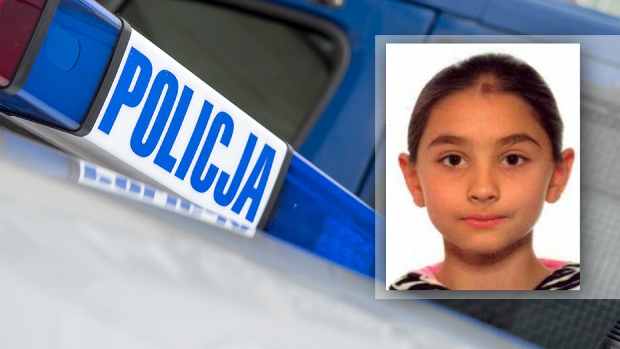 Policja opublikowała zdjęcie poszukiwanej dziewczynki (fot. tvp.info/Paweł Chrabąszcz/Policja)