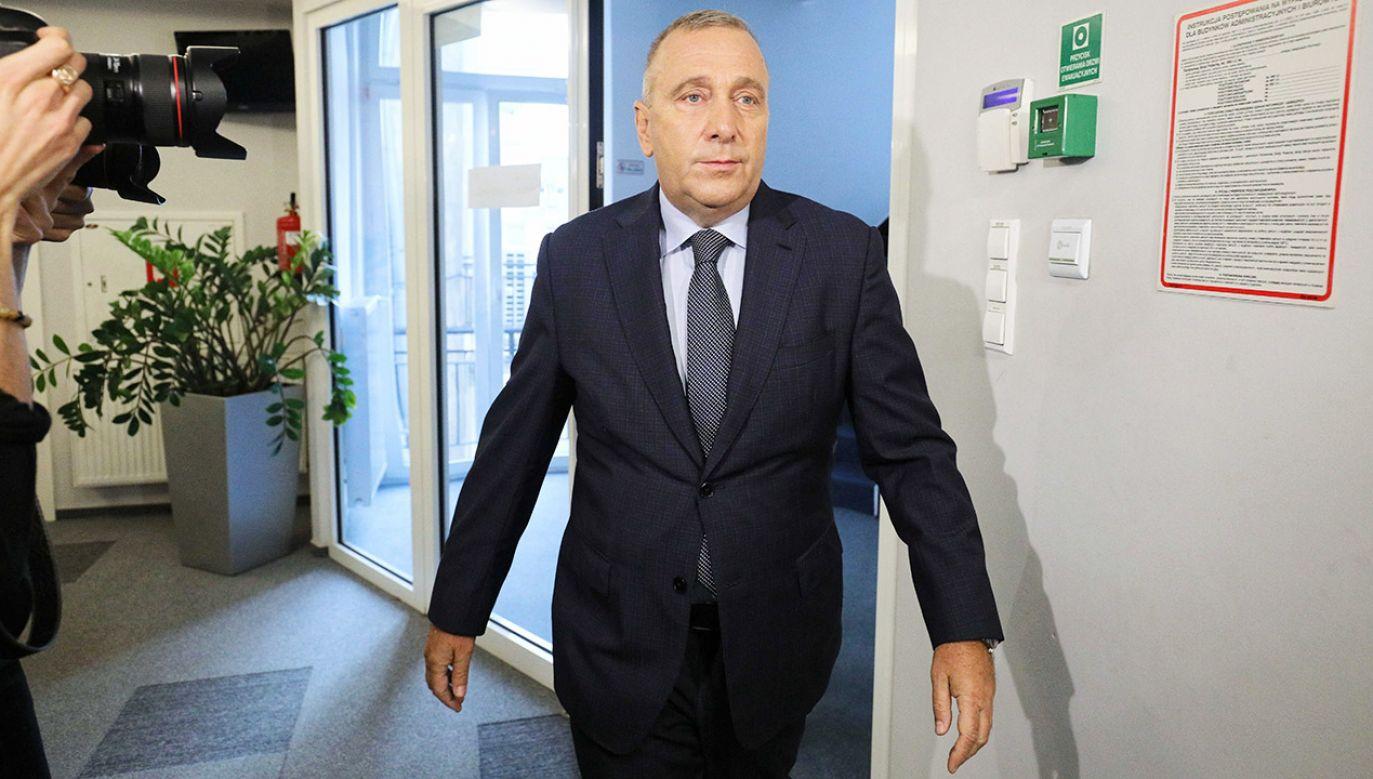 Komentarze dotyczące wyborczych strategii Grzegorza Schetyny (fot. PAP/Paweł Supernak)