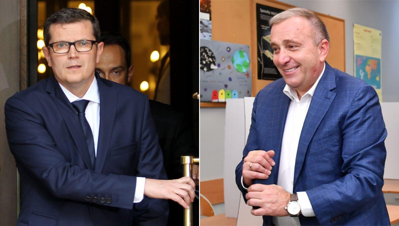 Podobny wpis co Schetyna zamieścił nowy senator PO Marcin Bosacki (fot.arch.PAP/Radek Pietruszka, Maciej Kulczyński)