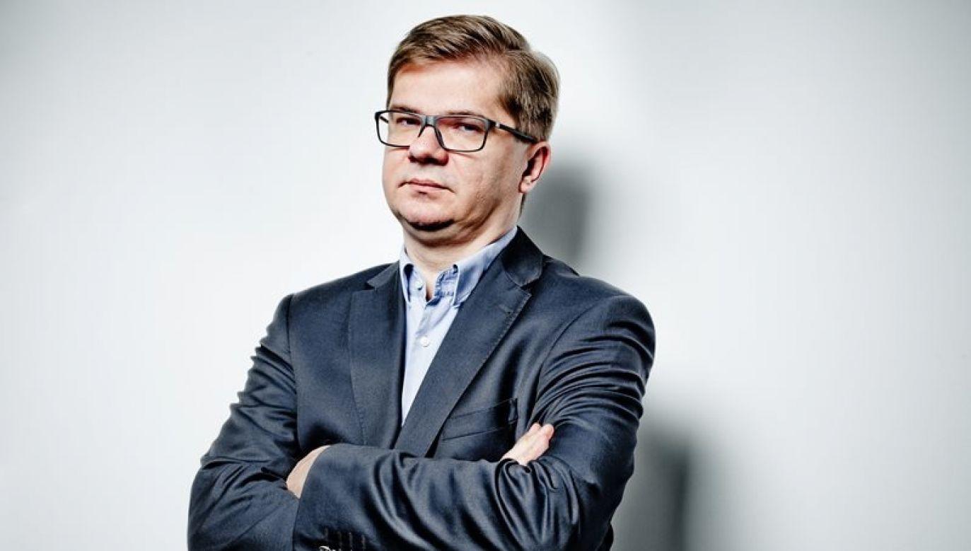 """Na antenie TVP 1 odbyła się premiera filmu Sylwestra Latkowskiego """"Nic się nie stało"""" (fot. Arkadiusz Markowicz/PAP)"""