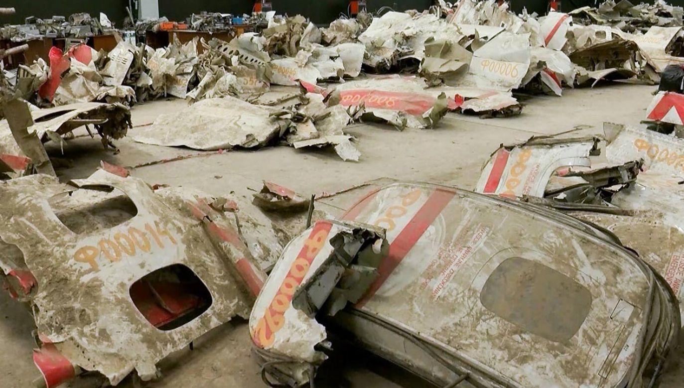 Do katastrofy smoleńskiej doszło 10 kwietnia 2010 roku (fot. Russian Investigative Committee/TASS)