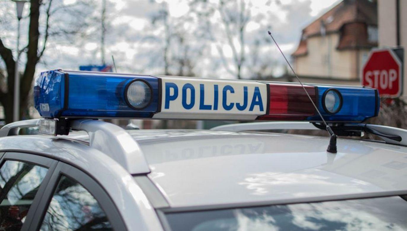 Policja poszukuje kierowcy (fot. tvp.info/Paweł Chrabąszcz)