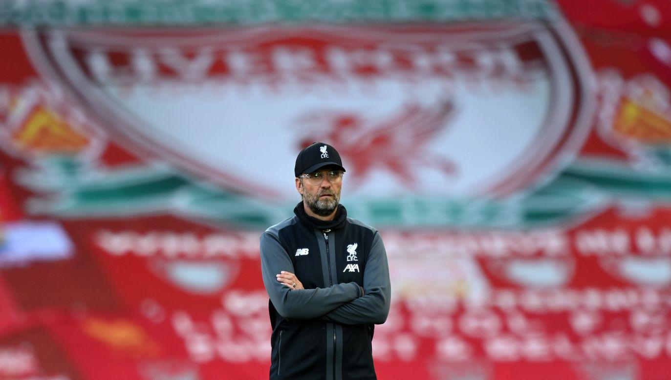 Trener piłkarzy Liverpoolu Juergen Klopp (fot. Shaun Botterill/Getty Images)