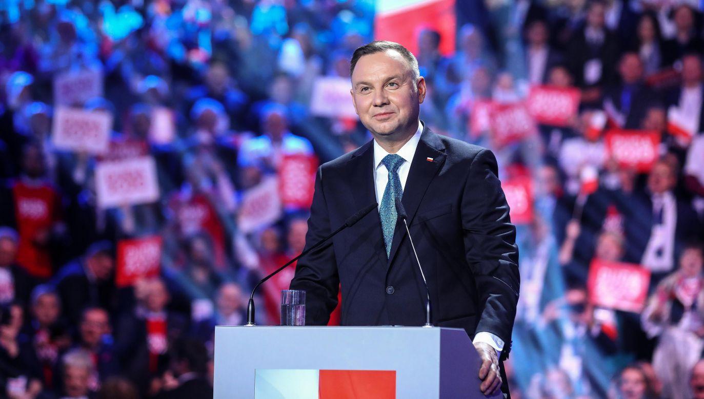 Andrzej Duda odniósł się także do kryteriów, jakimi będzie się kierował wybierając I prezesa SN (fot. arch. PAP/Andrzej Duda)