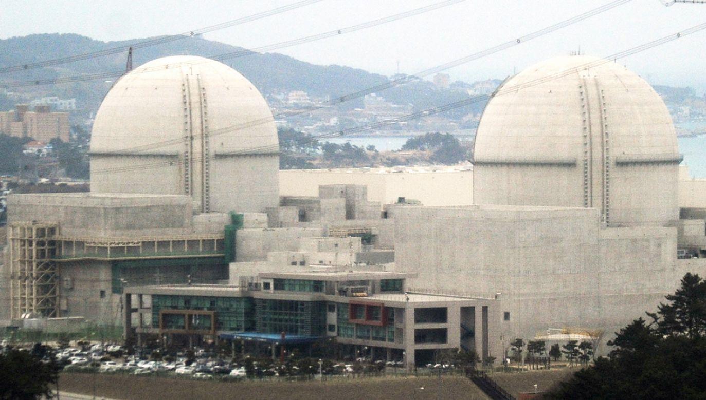 Ostatnia konstrukcja z Korei to reaktor APR 1400 – wodny reaktor ciśnieniowy. Pierwsze dwa takie reaktory działają już w Korei (fot.  Kyodo News Stills via Getty Images)