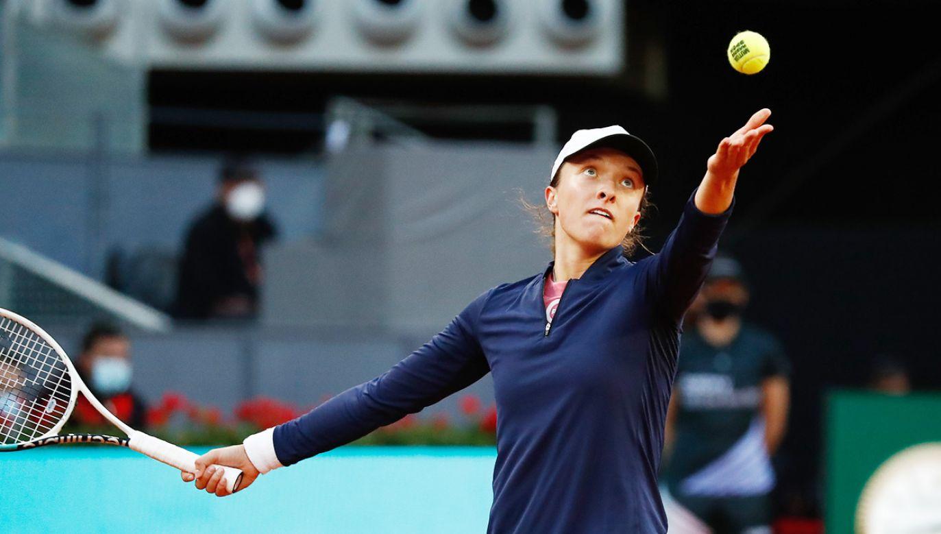 Iga Świątek pokonała Madison Keys (fot. Oscar J. Barroso / Europa Press Sports via Getty Images)