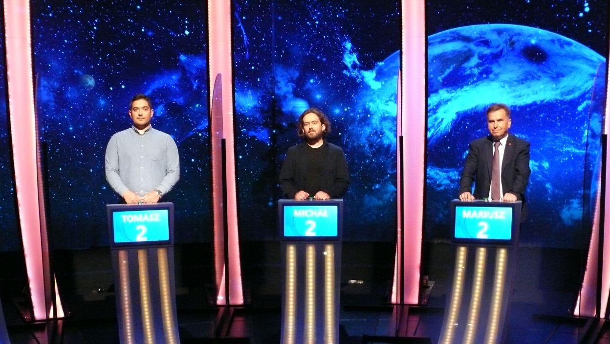 Trzech finalistów 13 odcinka 122 edycji, kazdy z nich może zostać zwycięzcą