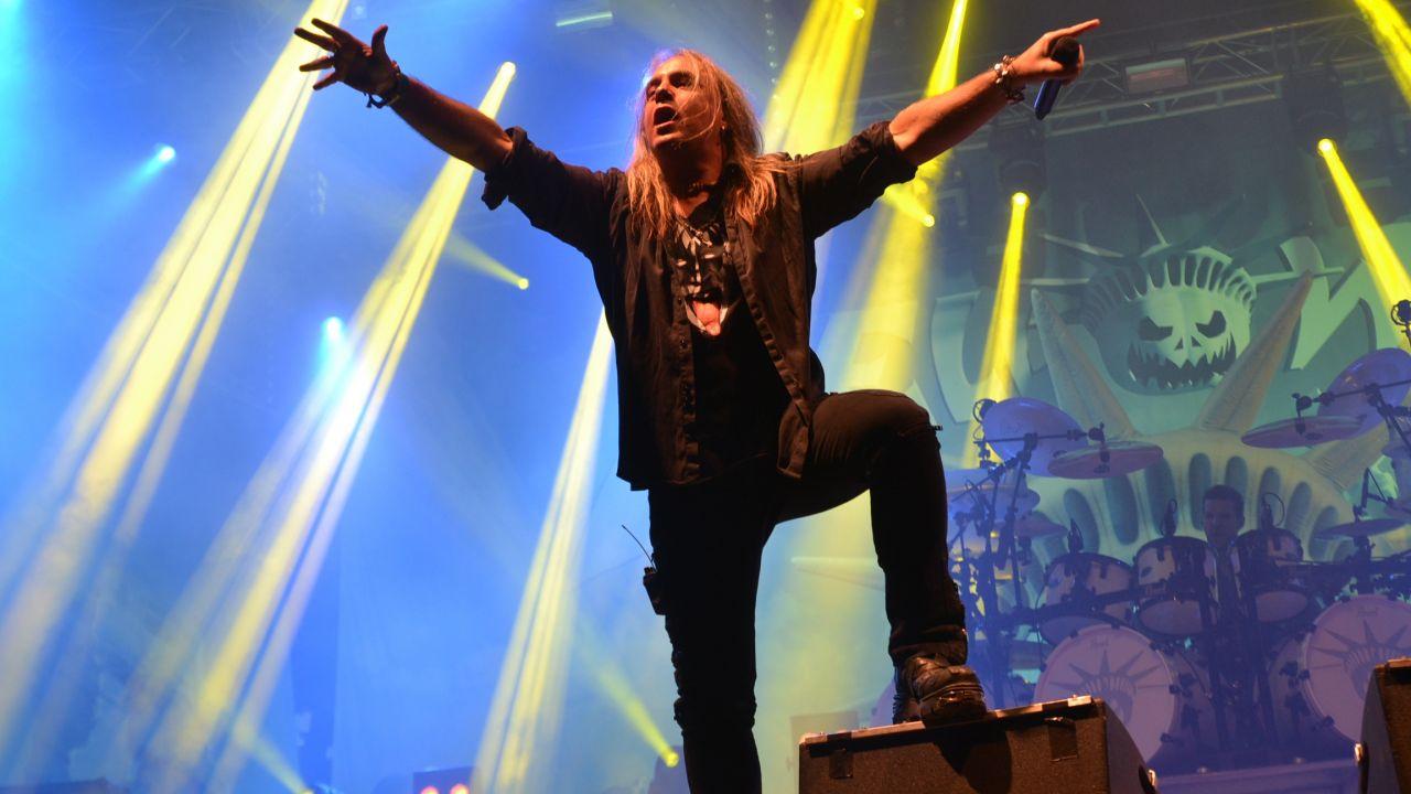 Grupa Helloween była gwiazdą ostatniego dnia festiwalu (fot. tvp.info/P.Lewandowski)