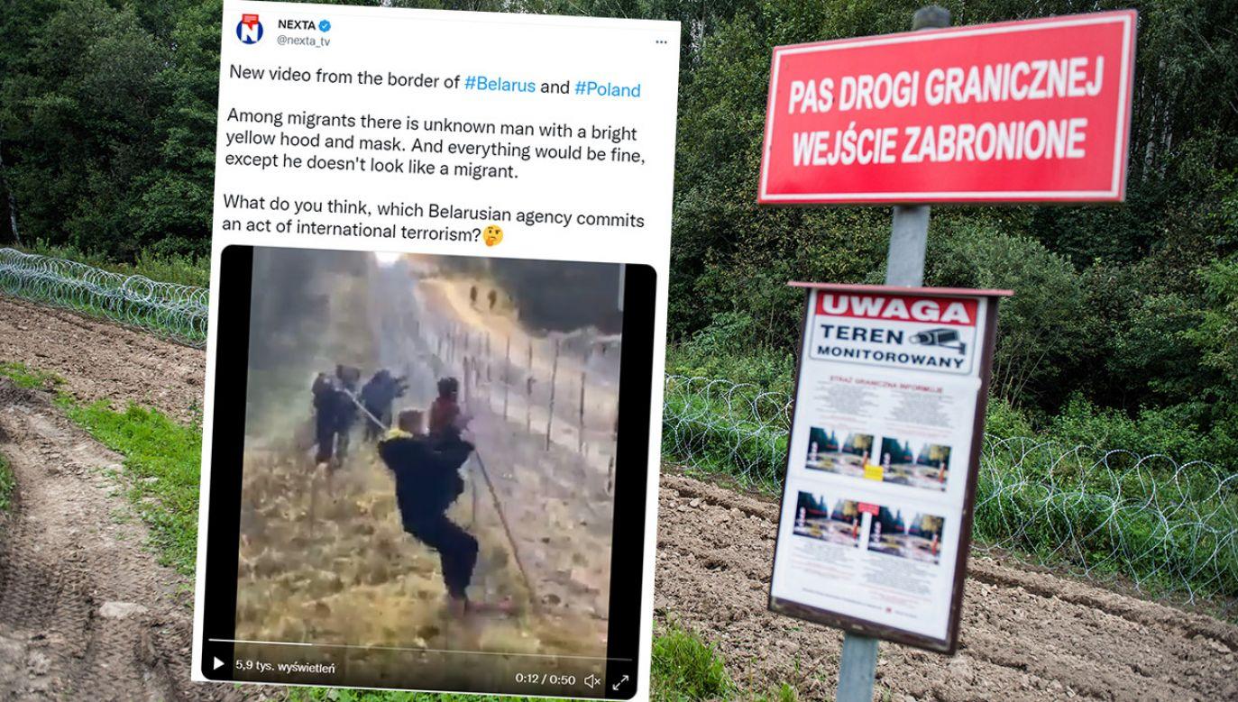 Od kilku miesięcy gwałtownie wzrosła liczba prób nielegalnego przekroczenia granicy (fot. Attila Husejnow/SOPA Images/LightRocket via Getty Images, tt/@nexta_tv)