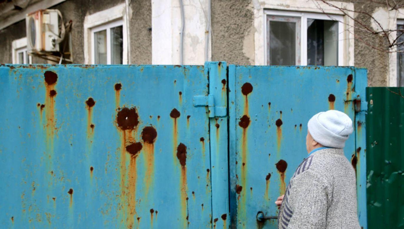 Niektóre dzieci dniami ukrywały się w piwnicach (fot. Valentin Sprinchak\TASS\Getty Images)