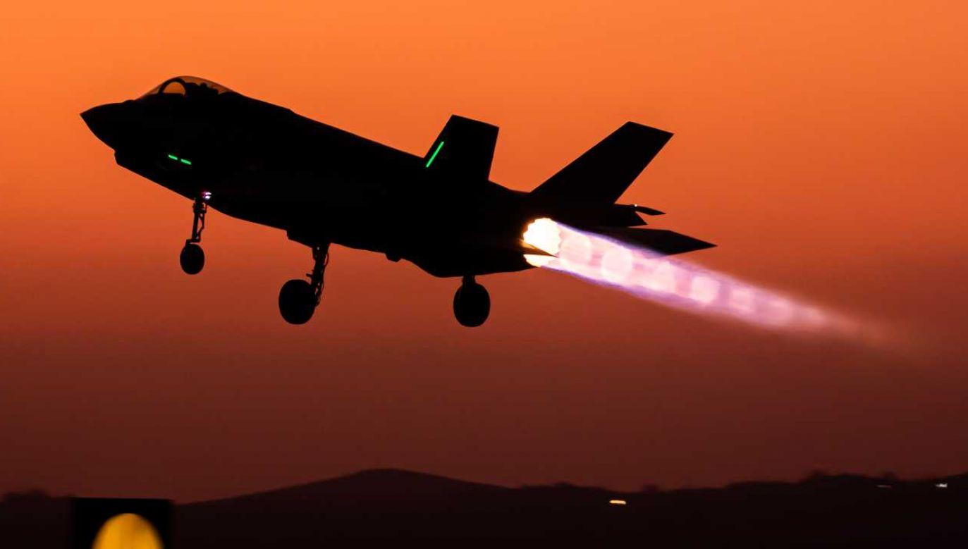 Izrael regularnie atakuje obiekty wojskowe w Syrii (fot. IDF)