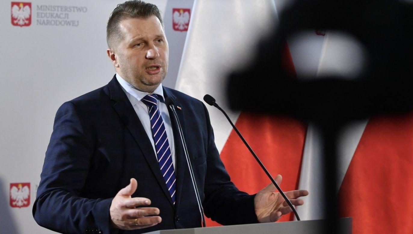 Przemysław Czarnek (fot. PAP/Radek Pietruszka)