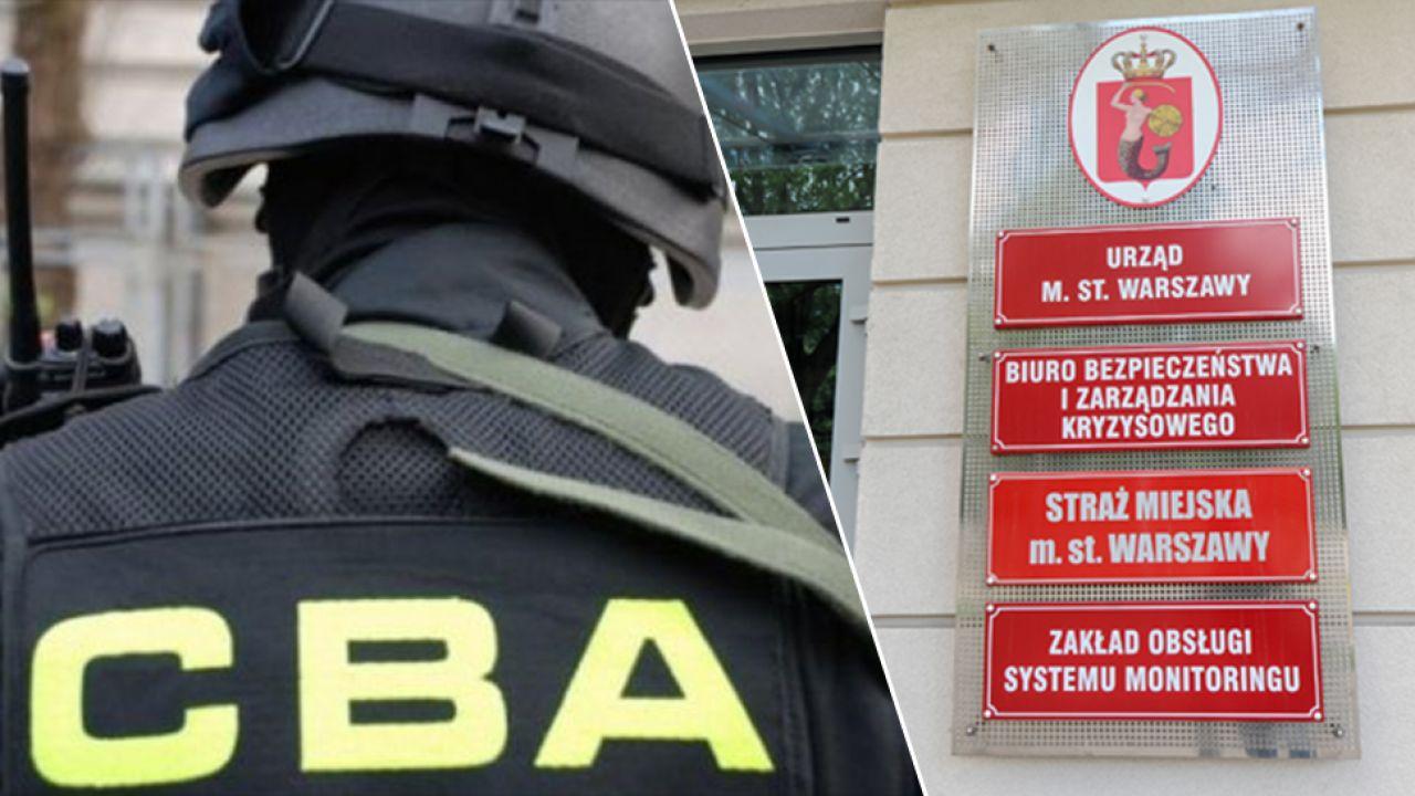 Siedziba stołecznej Straży Miejskiej w Warszawie (fot. PAP/Marcin Obara)